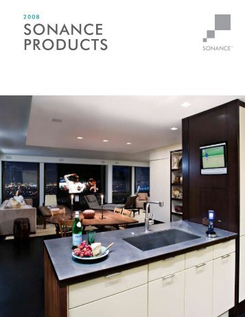SONANCE PRODUCTS