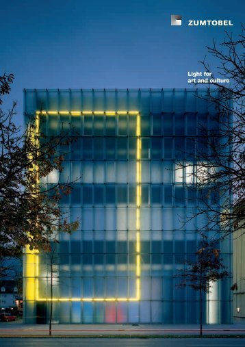 Light for art and culture - Instituto de Artes