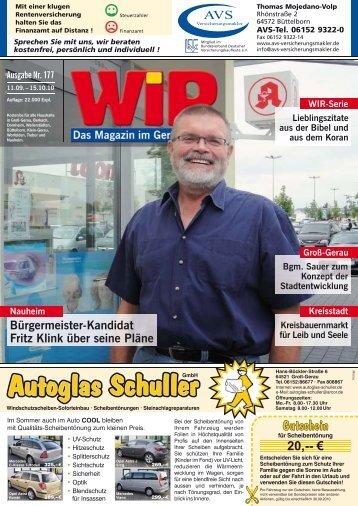 Moses sprach: Mein Herr - Das WIR-Magazin im Gerauer Land