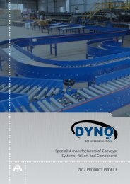 2012 PRODUCT PROFILE Specialist manufacturers of ... - Dyno Nz