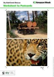 Worksheet 1a Postcards