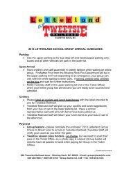 2014 LETTERLAND SCHOOL GROUP ... - Tweetsie Railroad