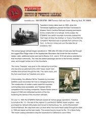 History of Tweetsie Railroad