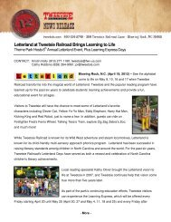Letterland at Tweetsie Railroad Brings Learning to Life