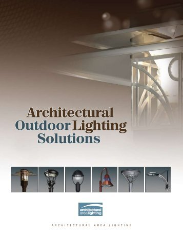 Architectural Outdoor Lighting Solutions