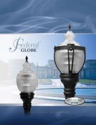 Federal Globe - Architectural Area Lighting