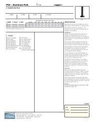 PS3 – Aluminum Pole