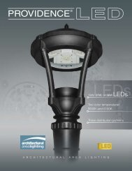 Providence® Small LED - Architectural Area Lighting