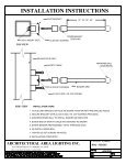 INSTALLATION INSTRUCTIONS - Page 2