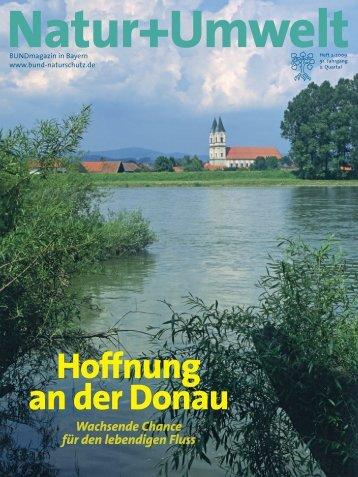"""BN-Magazin """"Natur+Umwelt"""" zur Donau - Bund Naturschutz in ..."""