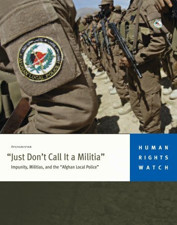 """Just Don't Call It a Militia"""