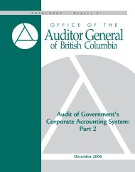 Audit of Government's Corporate Accounting System Part 2