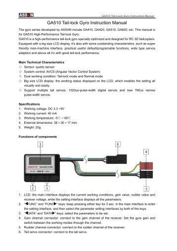 Tarot zyx-s 3 axis gyro system 設定 youtube.