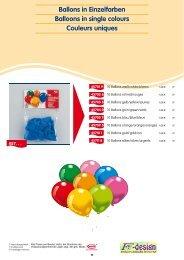 Ballon-Sortierungen Balloon assortments Assortiments ... - Fws-design
