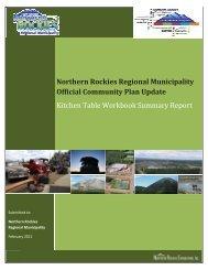 Kitchen Table Workbook Summary Report - Northern Rockies ...