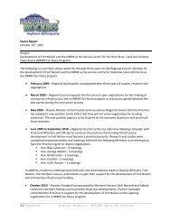 Service Centre Statu.. - Northern Rockies Regional Municipality