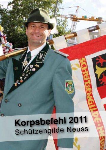 Korpsbefehl 2011