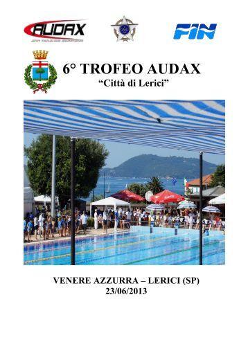 6° TROFEO AUDAX