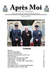 1st September 2008 - 617 Squadron Aircrew Association
