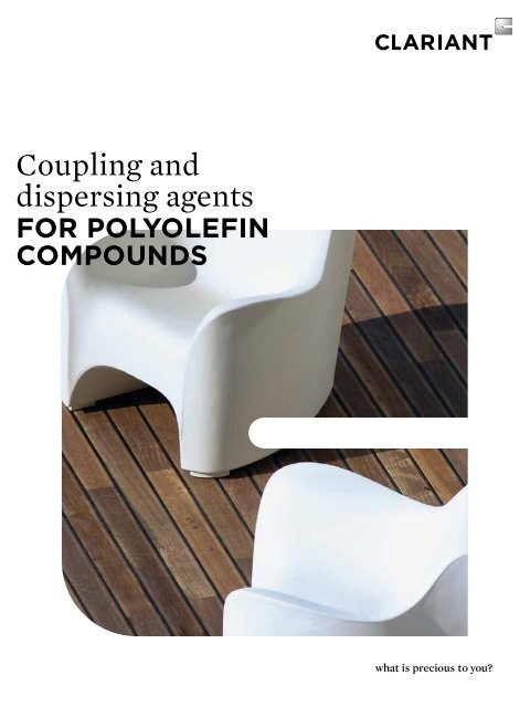 Coupling and dispersing agents