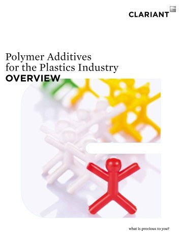 Polymer Additives for the Plastics Industry