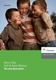 News Chat Soil & Stain Release