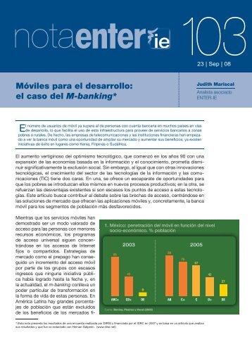 M-Banking - Observatorio Tecnológico