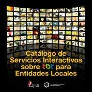 Catálogo de Servicios Interactivos sobre para Entidades Locales