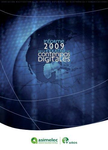 II Informe de Contenidos Digitales - Observatorio Tecnológico