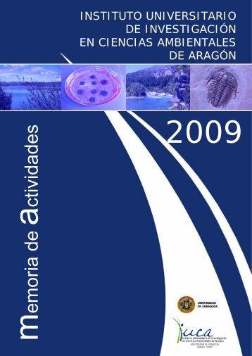 memoria actividades - Instituto Universitario de Investigación en ...