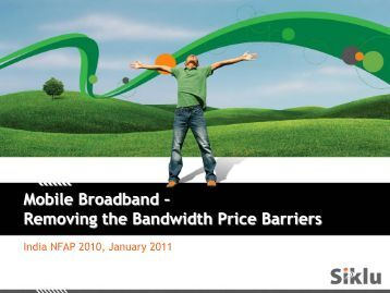 Removing the Bandwidth Price Barriers
