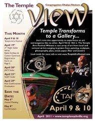 April 2011 ~ www.templenashville.org