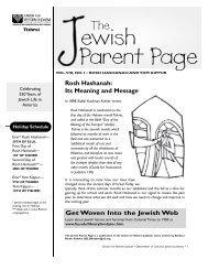 ewish Parent Page