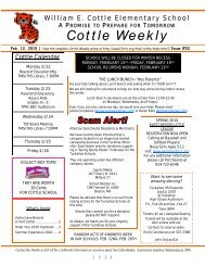Cottle Weekly
