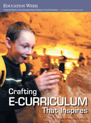 E-Curriculum