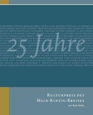 MKK Kulturpreisträger_25 Jahre - Der Kulturpreis des Main-Kinzig ...