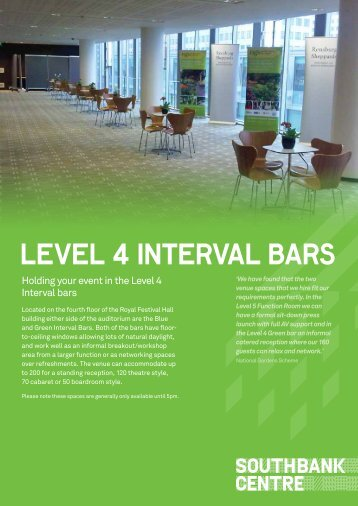 level 4 interval bars
