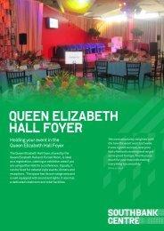 Queen Elizabeth Hall Foyer