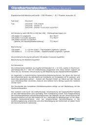 Gipskartonkühldecke peCool® - 150 Plaster / -G ... - Peuckert GmbH