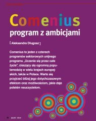 program z ambicjami