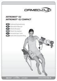 ARTROMOT®-E2 ARTROMOT®-E2 COMPACT