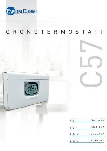Intellitherm c31 fantini cosmi for Fantini cosmi c57 prezzo