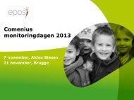 Comenius monitoringdagen 2013