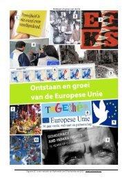 Ontstaan en groei van de EU