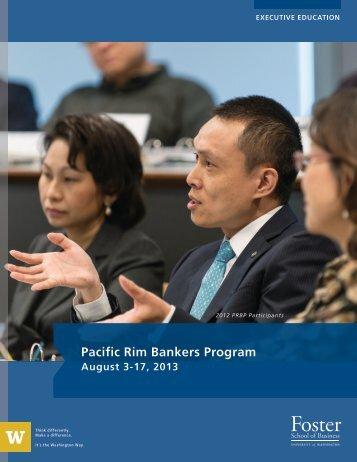 Pacific Rim Bankers Program