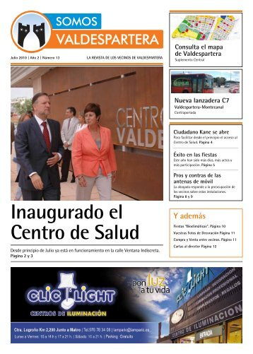 Inaugurado el Centro de Salud