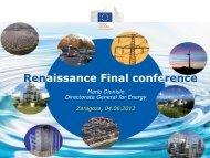 Renaissance Final conference