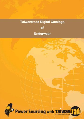 Taiwantrade Digital Catalogs of Underwear