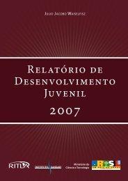 Relatório de Desenvolvimento Juvenil - Zero Hora