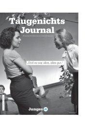 geht's zum Taugenichtsjournal Nr. 3 - Deutsches Theater